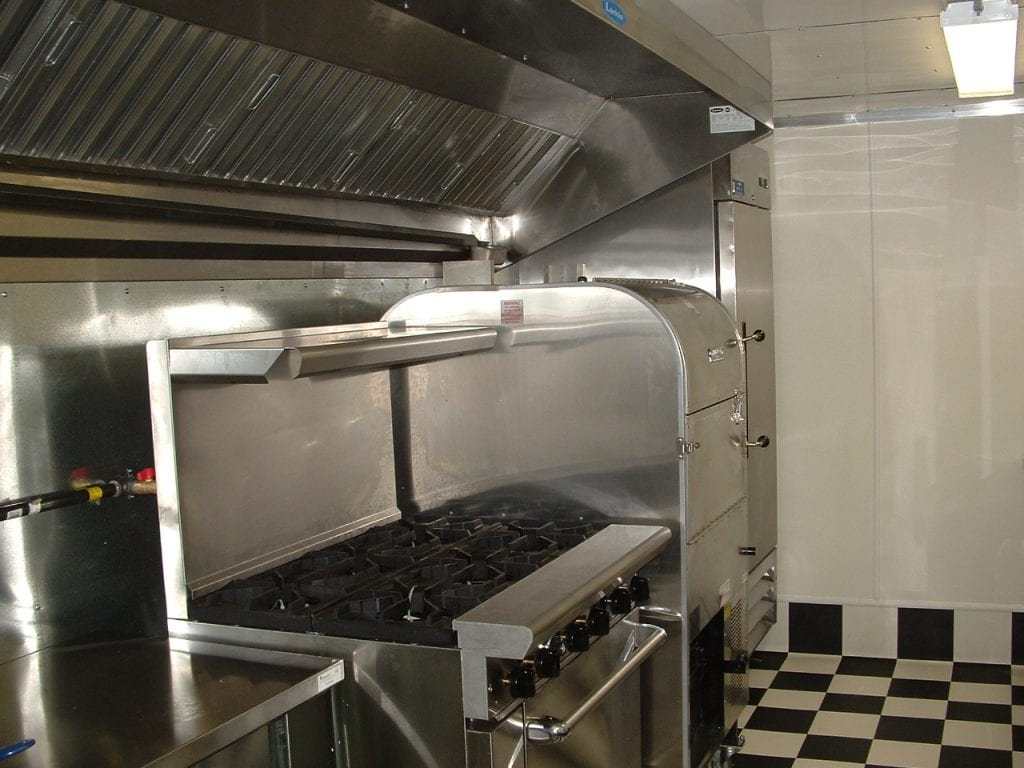 8.5 x 18 with Ole Convecture Tri-Oven Unit