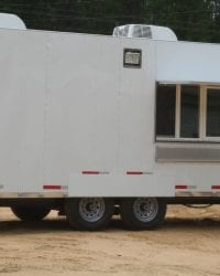 8.5×20 Softserve Ice Cream Trailer Deluxe Unit