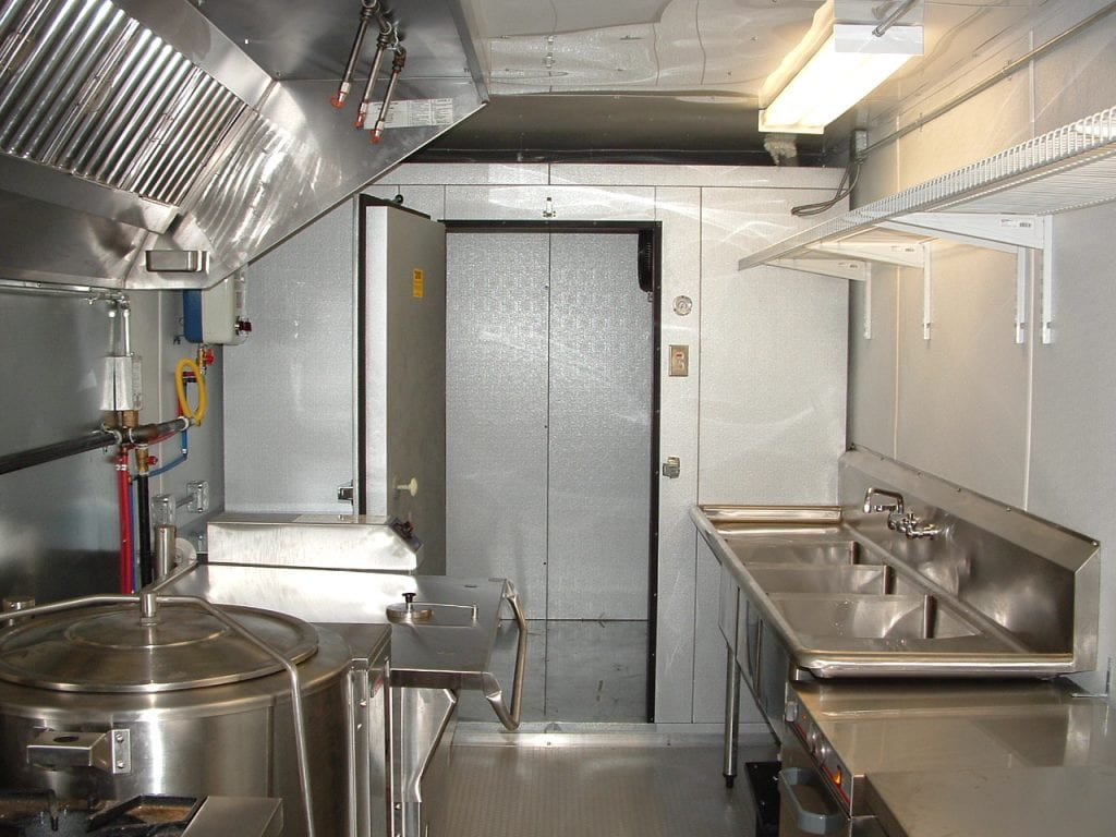 8.5 x 46 Mobile Kitchen