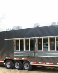8.5 x 30 Deluxe Mobile Kitchen